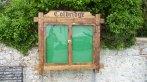 Door polycarbonate glazed and lockable