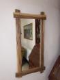 Rustic Oak Mirror H100 x W52 £125