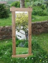 Rustic Oak Mirror H144 x W60 £160