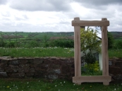 Rustic Maple Mirror H140 x W80 £160