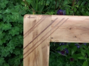 Reclaimed Mill Floor Frame (3.5 x 14 cm planks) with Rosewood inlay H75 x W140 £170