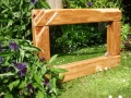 Reclaimed wood with Maple inlay and Rosewood leaves H51 x W78 £160